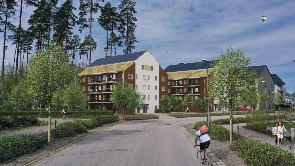 GBJ Bygg vann markanvisning för Dörren 3 i Växjö